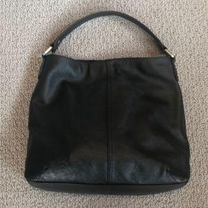 Kooba Black Leather Hobo Bag